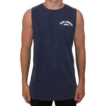 Trademark Vintage Muscle Tank Blue Stone *Limited Edition*