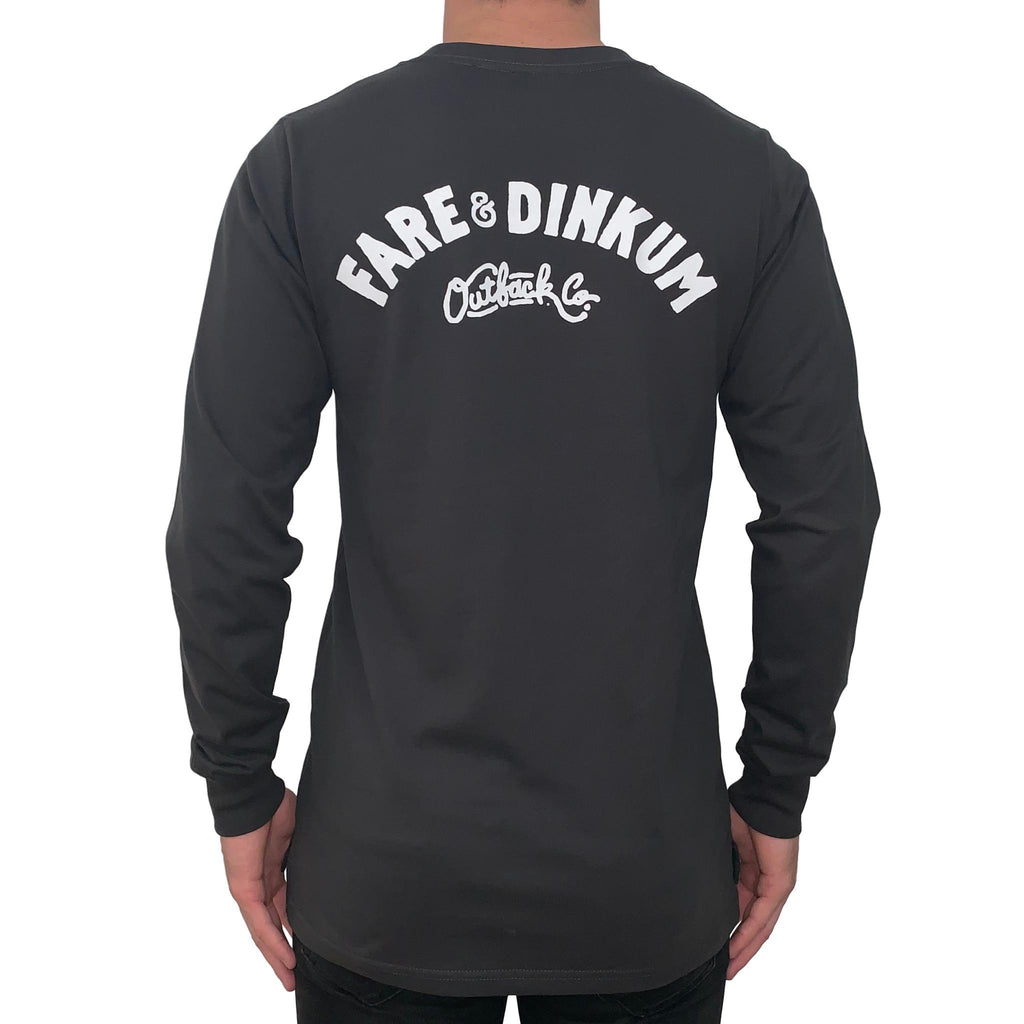 Trademark Vintage Long Sleeve Tee Luxe Coal