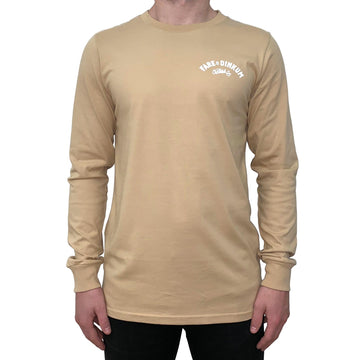 Trademark Vintage Long Sleeve Tee Tan