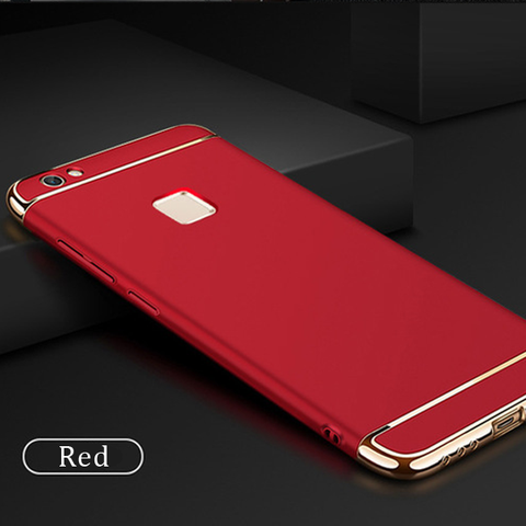 Vivo Y83 Electroplating Luxury 3 in1 Back Phone Case