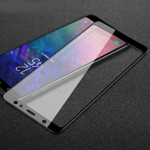 9H Tempered Glass Screen Protector for Samsung Galaxy A6 Plus