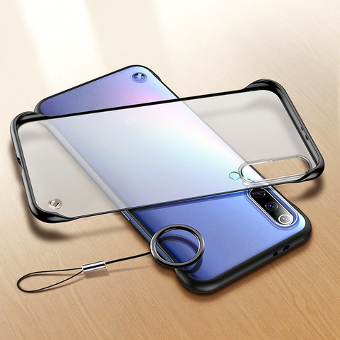 Frameless Semi Transparent Ring Finger Case for Galaxy A50