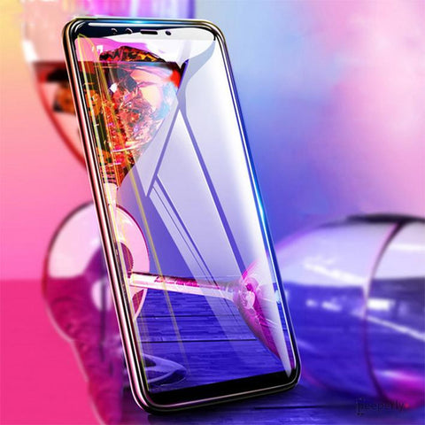 5D Tempered Glass Screen Protector For Galaxy A7 2018
