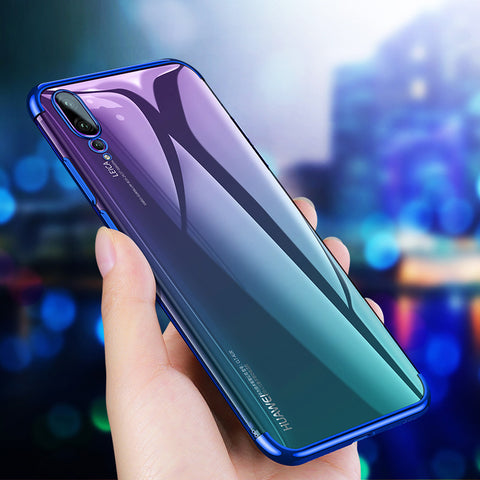 High End Ultra Thin Transparent Case for Huawei P20 Pro
