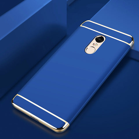 Luxury Gold Plating 3 in 1 Back Case for Redmi 5