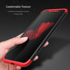 3 In 1 Ultra Thin Full Protection Hard PC Case for iPhone X