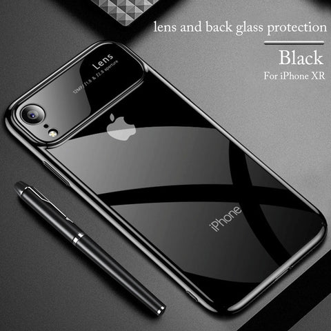 Apple iPhone XR New Edition Luxury Lens Case