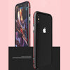 Metal Aluminium Dual Color Frame Case for iPhone X
