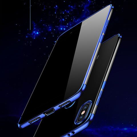 High End Fashion Ultra Thin Transparent Case for Redmi Y2