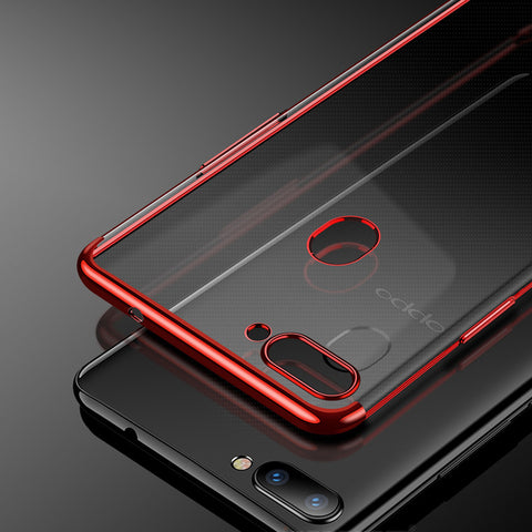 Luxury High-End Transparent Case For Oppo F9