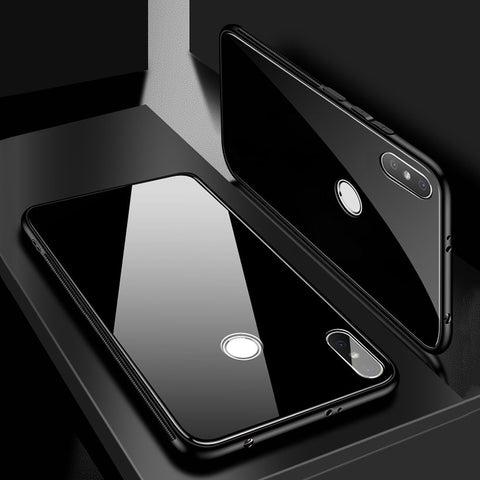 9H Luxury Tempered Glass Protective Case for Redmi Y2
