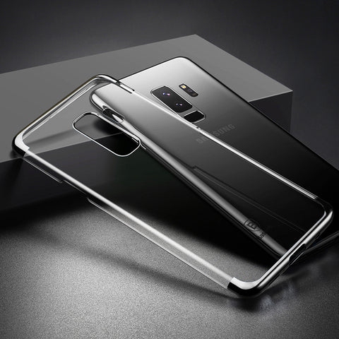Baseus Luxury Plating Ultra thin Hard Plastic Case For Galaxy A6 Plus