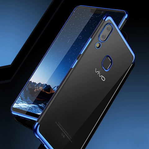High End Fashion Ultra Thin Transparent Case for VIVO V9