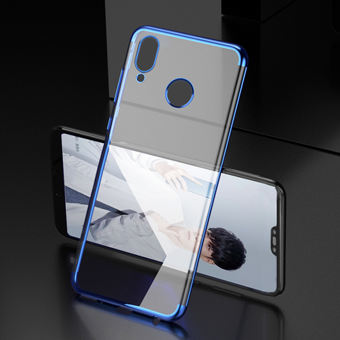 High End Ultra Thin Transparent Case for Huawei P20 Lite