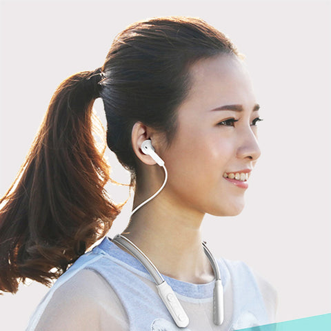 Neckband Wireless Bluetooth Earphone with Mic