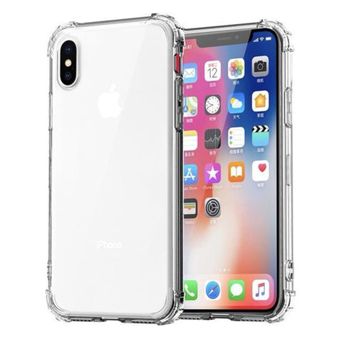 timeless design 47443 5e07b Luxury Transparent Shockproof Bumper Case For iPhone XS Max ...