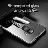 Luxury Hard Tempered Glass Phone Case for Galaxy J6
