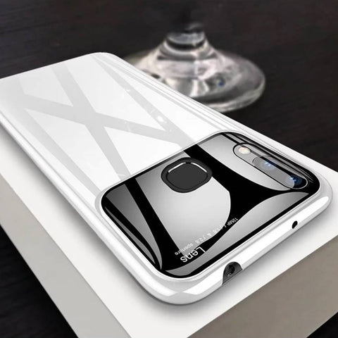 Luxury Smooth Mirror Effect Ultra Thin Case for VIVO V9