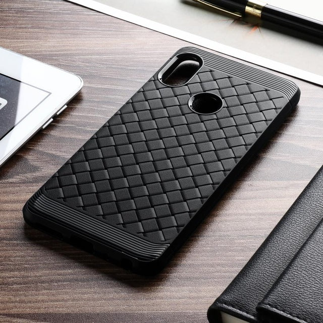 more photos 4ffe6 3ddfc Ultra Thin Grid Weaving Case for Redmi Note 5 Pro