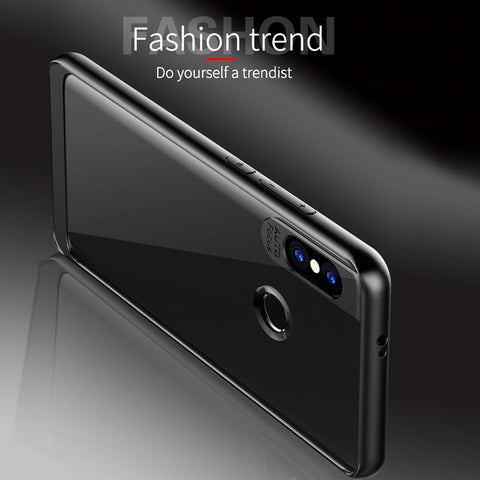 Full Protective Transparent TPU Auto Focus Case for Redmi Note 5 Pro