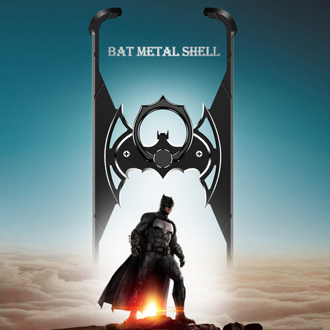 Batman Metal Bumper Shockproof Case for iPhone X, XR, XS Max