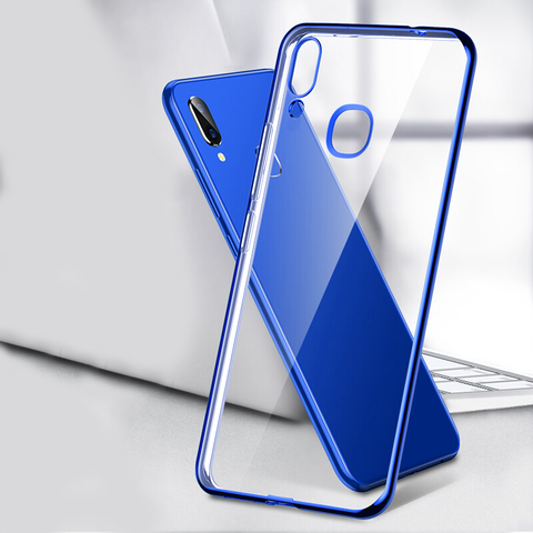 High End Fashion Ultra Thin Transparent Case for Vivo V11