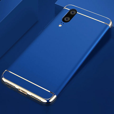 3-In-1 Electroplated Ultra Thin Case for Huawei P20 Lite