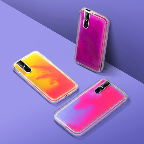 Neon Sand Liquid Glow Phone Case for VIVO V15 / V15 PRO