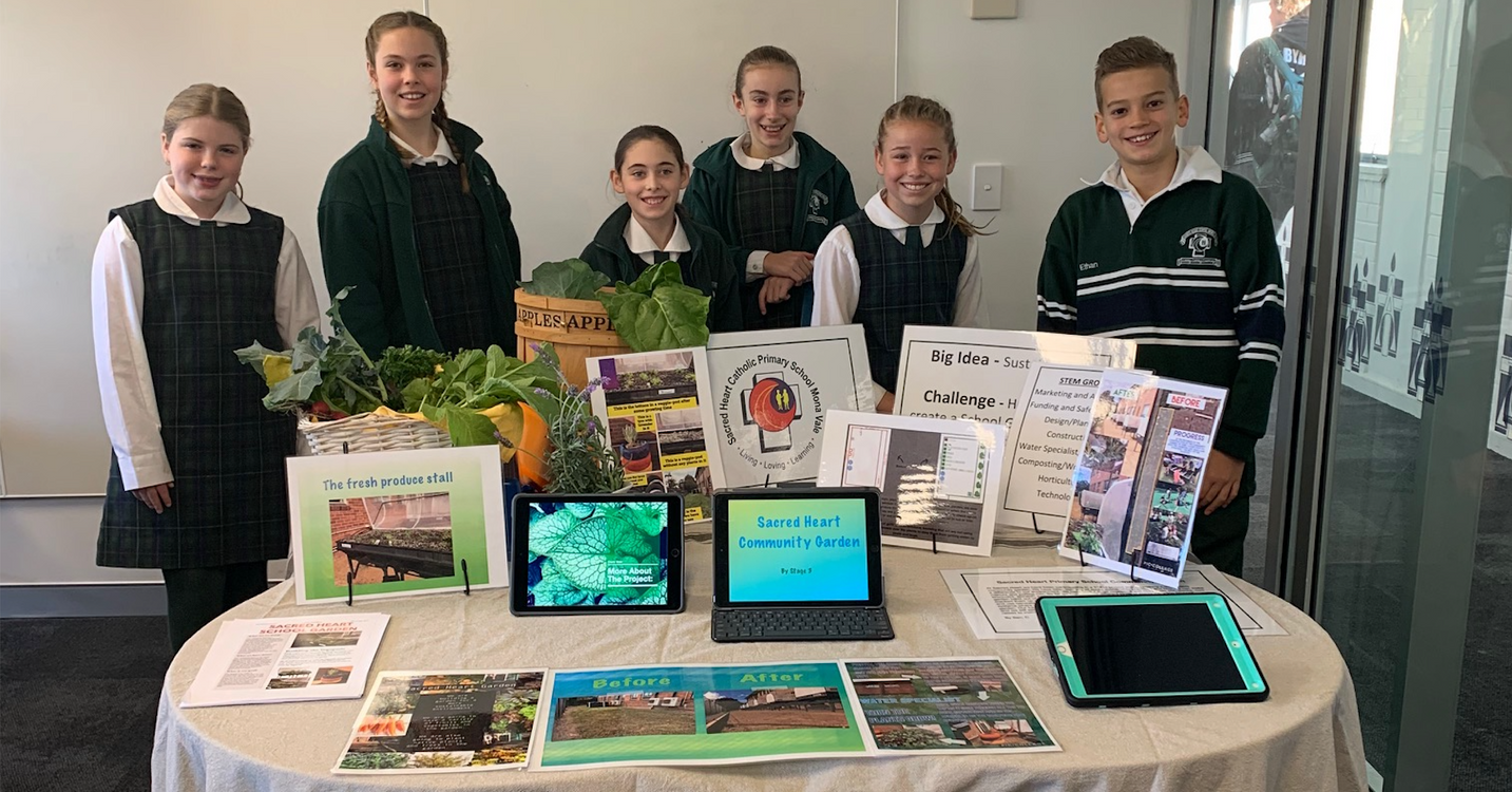 Sacred Heart Catholic School Uses Vegepod's Sprouters Junior Program