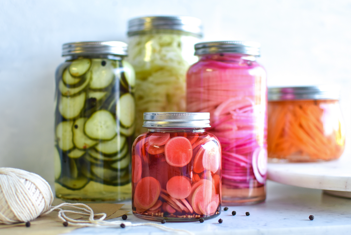 Pod To Plate: Georgia Barnes Shows How To Pickle (Almost) Anything
