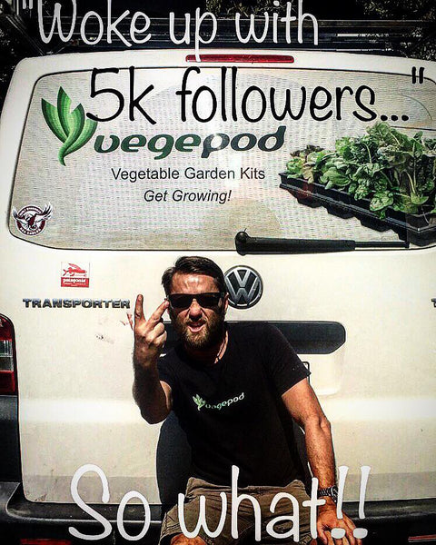 5K followers on Vegepod