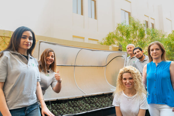 vegepod qatar team