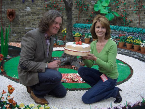 James May's Plasticine Garden at Chelsea Garden Show