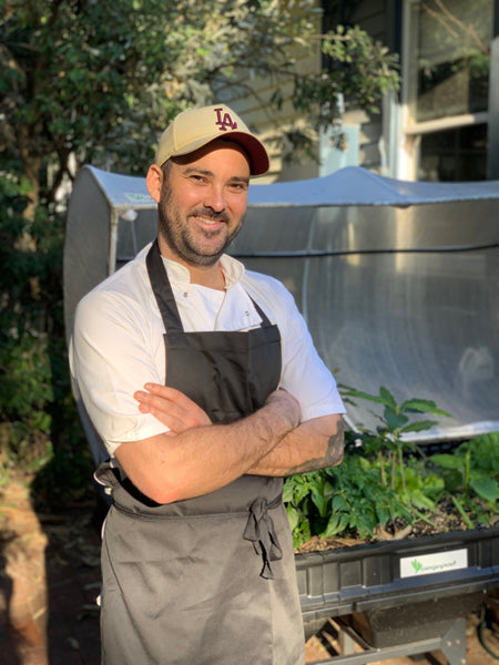 Nathan Boler - Raised garden bed chef