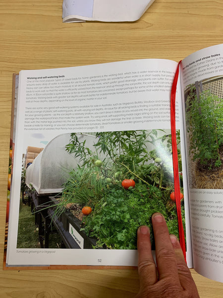 Vegepod in the Know Grow Sow book