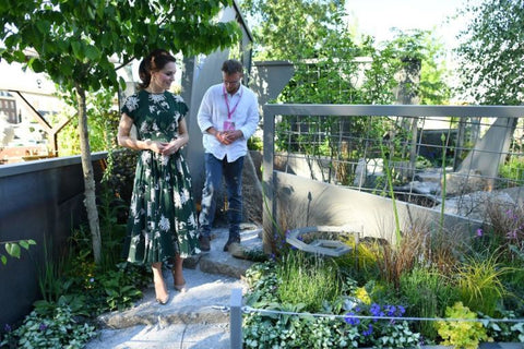 Princess Kate Middleton at Chelsea Garden Show