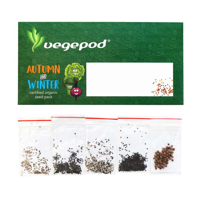 Autumn / Winter Certified Organic Seed Pack