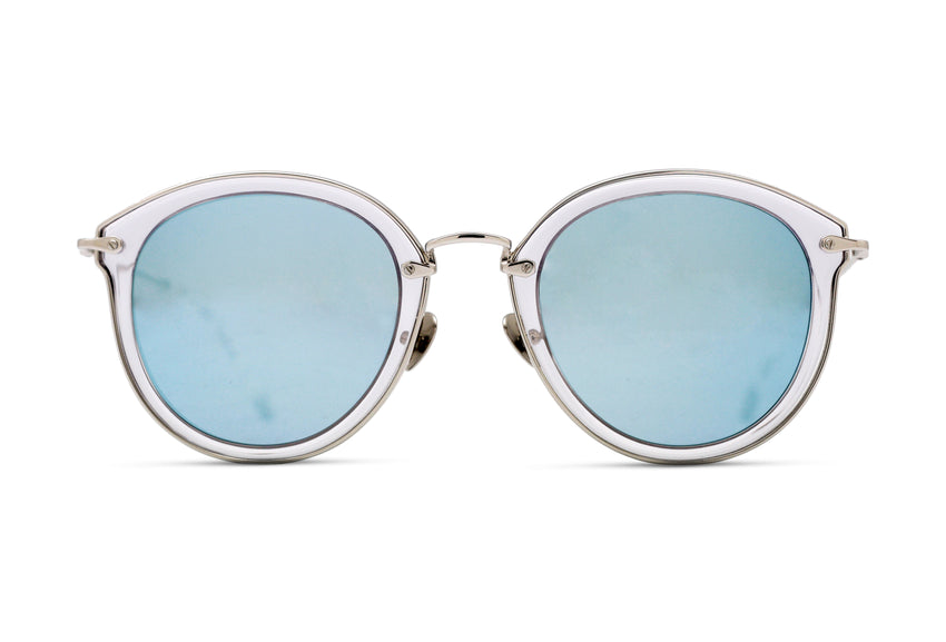JAMES - CLEAR/ SILVER- ICE BLUE MIRROR
