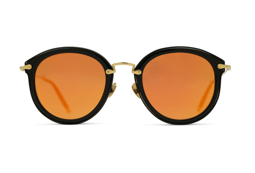 JAMES - BLACK/ GOLD	- ORANGE GOLD MIRROR