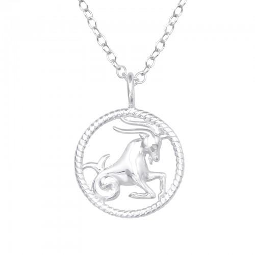 Kaulakoru - Capricorn Zodiac Sign - 12 mm x 12 mm - Sterling Hopea 925 - N/A - Samaskoru.fi