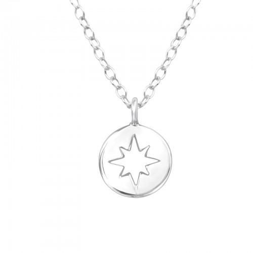 Kaulakoru - Northern Star - 7 mm x 8 mm - Sterling Hopea 925 - N/A - Samaskoru.fi