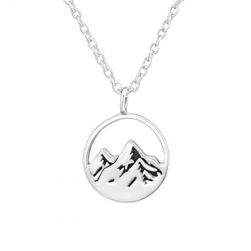 Kaulakoru - Mountain - 11 mm x 11 mm - Sterling Hopea 925 - N/A - Samaskoru.fi