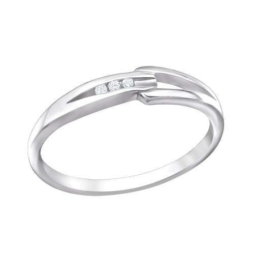 Sormus - Band - 1.3 mm x 4 mm - Sterling Hopea 925 - 7 - Samaskoru.fi