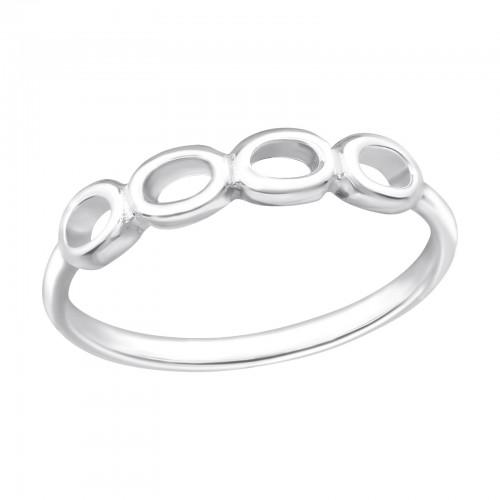 Sormus - Bubble - 15 mm x 4 mm - Sterling Hopea 925 - 6 - Samaskoru.fi