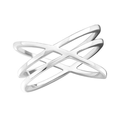 Sormus - Intertwining - 1.2 mm x 10 mm - Sterling Hopea 925 - 6 - Samaskoru.fi
