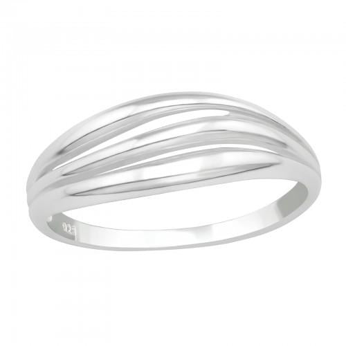 Sormus - Stackable - 17 mm x 8 mm - Sterling Hopea 925 - 7 - Samaskoru.fi