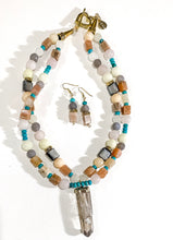 Load image into Gallery viewer, Promise Necklace & Earrings