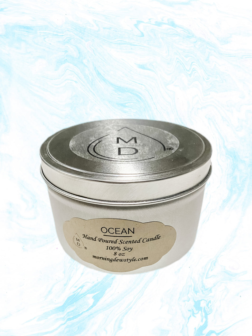 Ocean Scented Candle