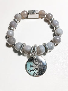 International Women's Day Charm Bracelet