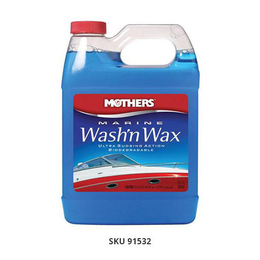 Marine Wash'n Wax, 52 Oz